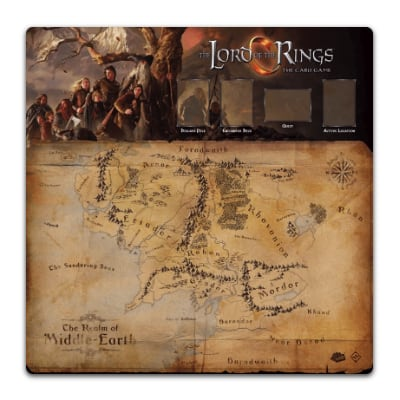 Herr der Ringe LCG: Fellowship 1-4 Player Gamemat