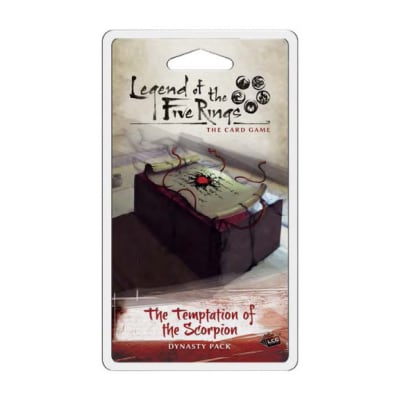 L5R: Temptations 4 – The Temptations of the Scorpion – EN