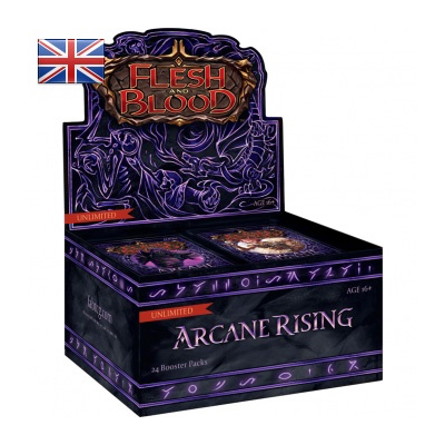 Flesh and Blood: Arcane Rising – Unlimited Booster Display (24 Packs) – EN