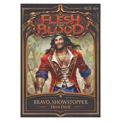 "Flesh and Blood: Welcome to Rathe – Hero Deck ""Bravo, Showstopper"" – EN"