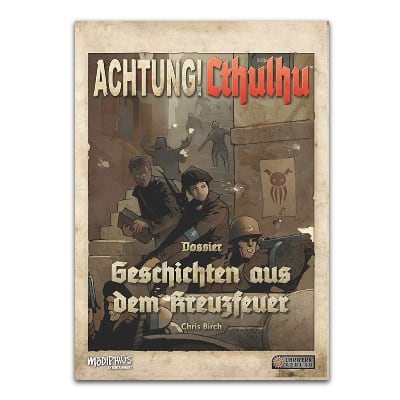 Achtung! Cthulhu: Spielleiterschirm & Geschichten aus dem Kreuzfeuer – DE