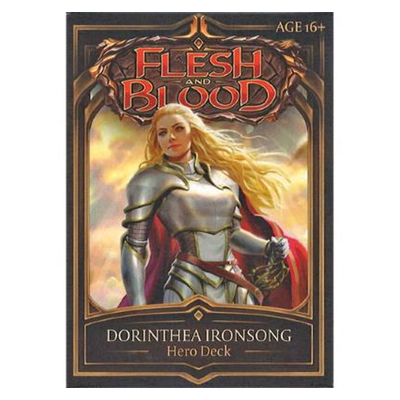 "Flesh and Blood: Welcome to Rathe – Hero Deck ""Dorinthea Ironsong"" – EN"