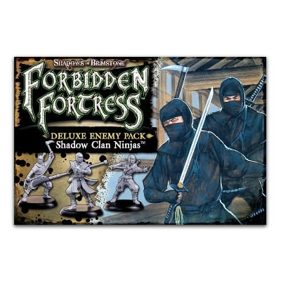 Shadows of Brimstone: Forbidden Fortress – Shadow Clan Ninja Deluxe Enemy Pack – EN