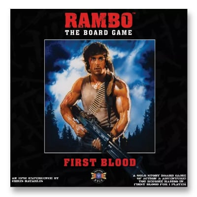 Rambo the Board Game: Trilogy Collection – EN
