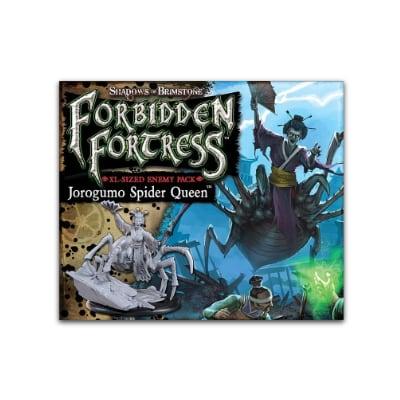 Shadows of Brimstone: Forbidden Fortress – Jorogumo Spider Queen Enemy Pack – EN