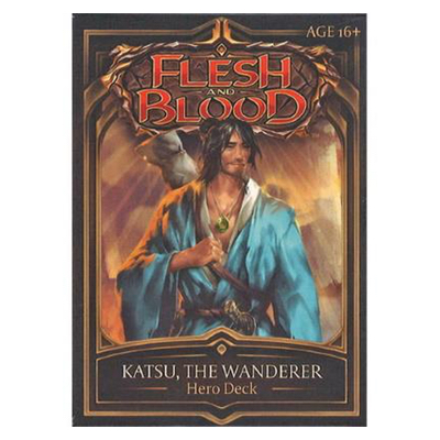"Flesh and Blood: Welcome to Rathe – Hero Deck ""Katsu, the Wanderer"" – EN"