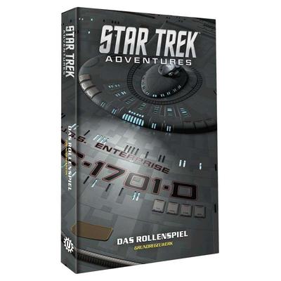 Star Trek Adventures: Grundregelwerk (HC) *limitiert* – DE