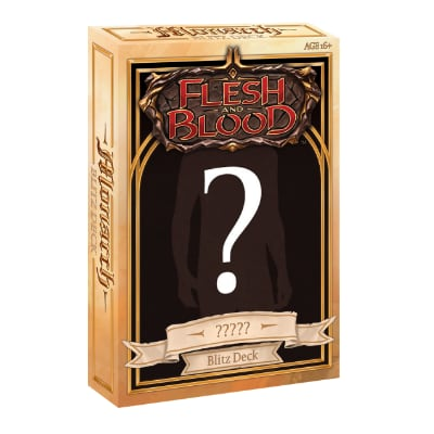 "Flesh and Blood: Monarch – Hero Deck ""? A ?"" – EN"