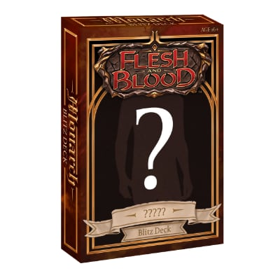 "Flesh & Blood: Monarch – Hero Deck ""? D ?"" – EN"