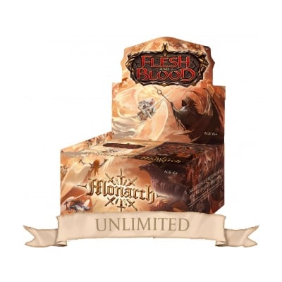 Flesh and Blood: Monarch – Unlimited Booster Display (24 Packs) – EN