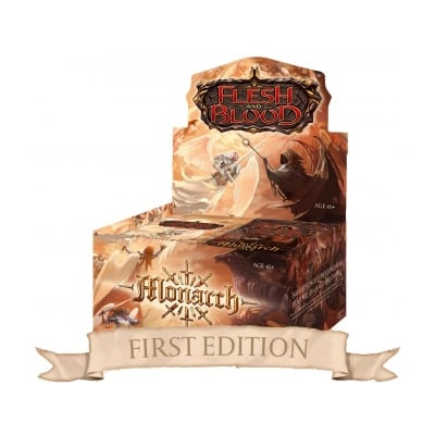 Flesh and Blood: Monarch – First Edition Booster Display (24 Packs) – EN