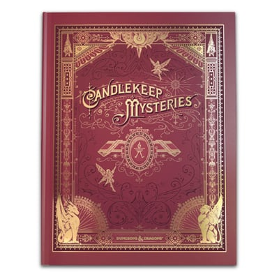 D&D: Candlekeep Mysteries – limited alternate Cover (HC) – EN