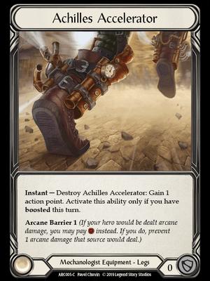 """ARC005: Achilles Accelerator – (C) """"Foil"""""""