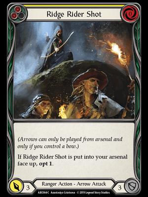 ARC064: Ridge Rider Shot (Yellow) – (C)