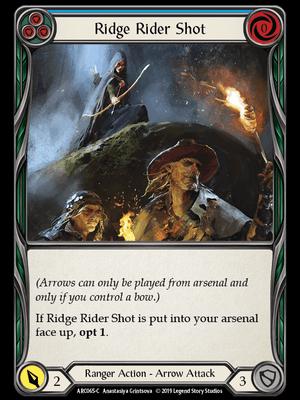 ARC065: Ridge Rider Shot (Blue) – (C)