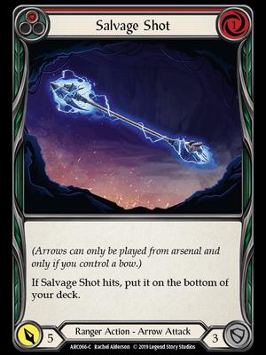 ARC066: Salvage Shot (Red) – (C)