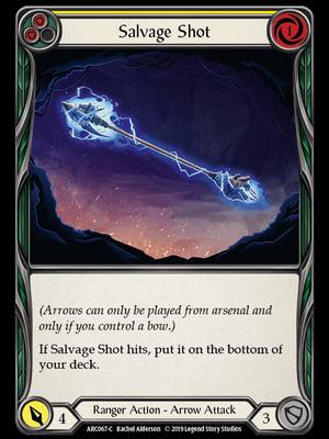 ARC067: Salvage Shot (Yellow) – (C)