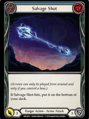 ARC068: Salvage Shot (Blue) – (C)