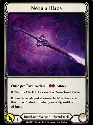 ARC077: Nebula Blade – (T)