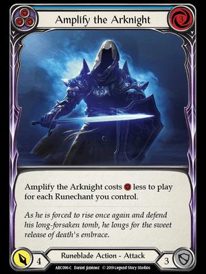 ARC096: Amplify the Arknight (Blue) – (C)