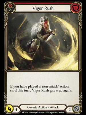 ARC197: Vigor Rush (Red) – (C)