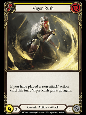 ARC198: Vigor Rush (Yellow) – (C)