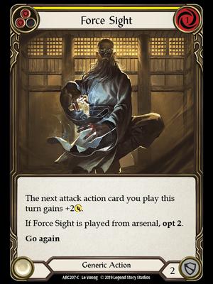 ARC207: Force Sight (Yellow) – (C)