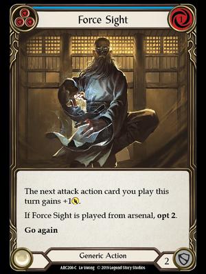 ARC208: Force Sight (Blue) – (C)
