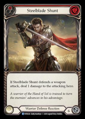 WTR126: Steelblade Shunt (Red) – (R)