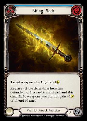 WTR137: Biting Blade (Blue) – (C)