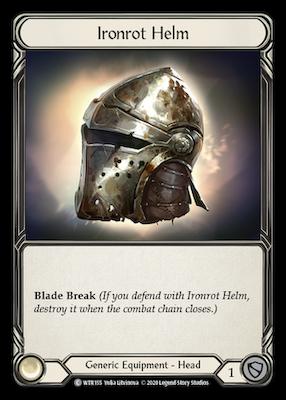 WTR155: Ironrot Helm – (C)