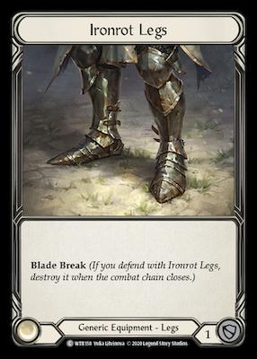 WTR158: Ironrot Legs – (C)