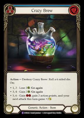 WTR162: Crazy Brew – (SR)