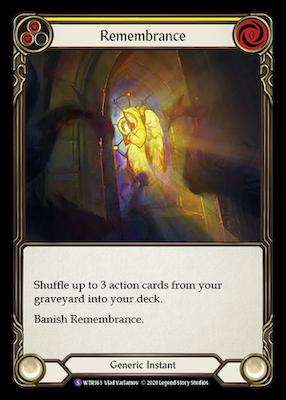 WTR163: Remembrance – (SR)