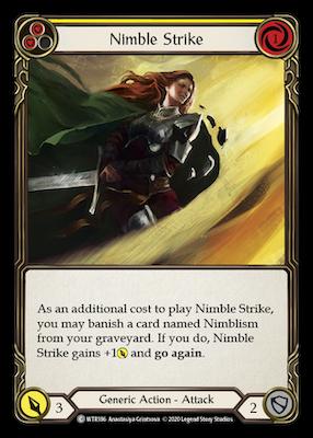 WTR186: Nimble Strike (Yellow) – (C)