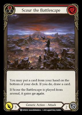 WTR194: Scour the Battlescape (Red) – (C)