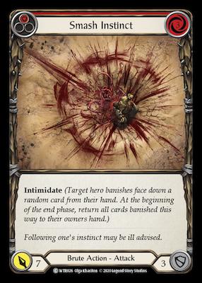 WTR026: Smash Instinct (Red) – (C)