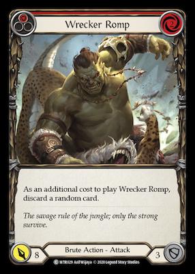 WTR029: Wrecker Romp (Red) – (C)