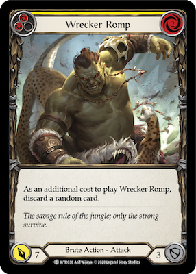 WTR030: Wrecker Romp (Yellow) – (C)