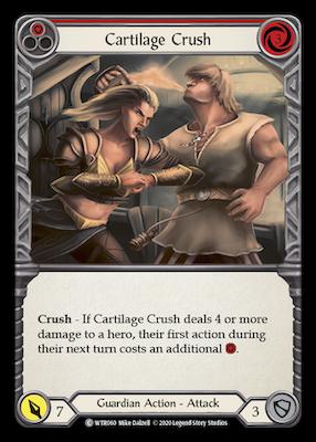 WTR060: Cartilage Crush (Red) – (C)