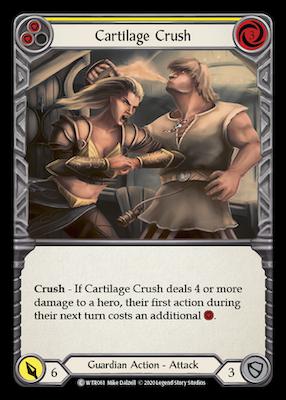 WTR061: Cartilage Crush (Yellow) – (C)