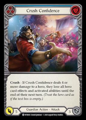 WTR065: Crush Confidence (Blue) – (C)