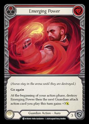 WTR069: Emerging Power (Red) – (C)