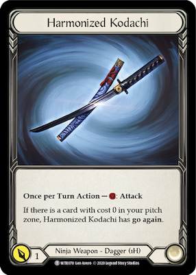 WTR078: Harmonized Kodachi – (T)