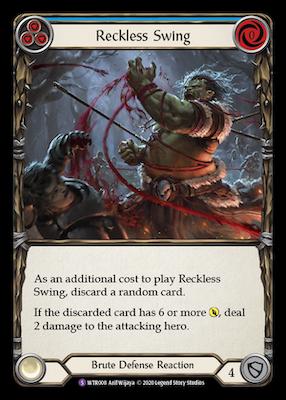 WTR008: Reckless Swing – (SR)