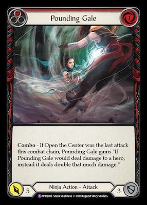 WTR085: Pounding Gale – (SR)
