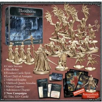"""Bloodborne """"the Board Game"""": Forsaken Cainhurst Castle (inkl. Kickstarter Exklusive Extra) – EN"""