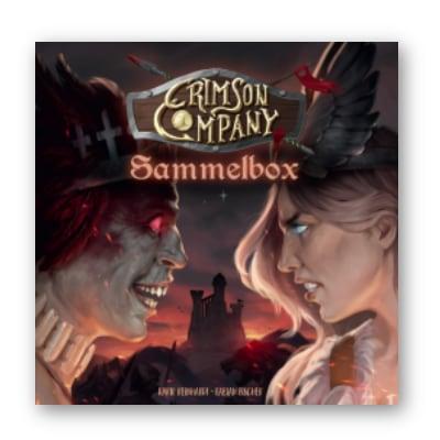 """Crimson Company """"Sammelbox"""" – DE"""