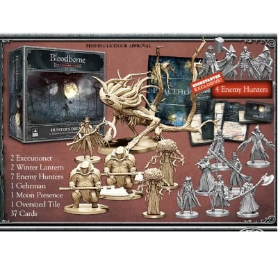 "Bloodborne ""the Board Game"": Hunters Dream (inkl. Kickstarter Exklusive Enemy Hunters) – EN"