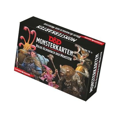 D&D: Monsterkarten – Volos Almanach der Monster – DE